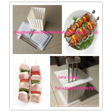 Kebab Skewers Shish Kebab Sticks Meat Making Box BBQ Tools