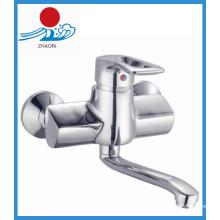 Messing Körper Wandmontierte Küche Waschbecken Wasserhahn (ZR21003)
