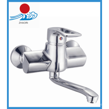 Robinet d'évier en cuisine moulé en laiton pour salle de bain (ZR21003)
