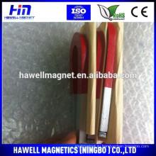 Красный, белый alnico учебный магнит, U-образный тип, подковообразный тип