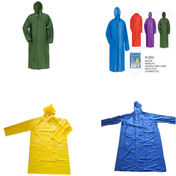 Imperméable Seliing chaud adulte en PVC transparent