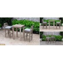 DEVON COLLECTION - Le plus vendu Poly PE Rattan Outdoor Furniture High Bar set for Outdoor Furniture