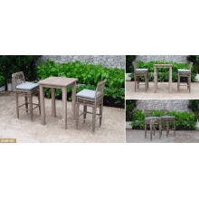 DEVON COLLECTION - Best selling Poly PE Rattan Outdoor Furniture High Bar set for Outdoor Furniture