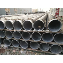 ERW Carbon Steel Pipe, API 5L X42 Bevel Ends, internal lining , external Bitumen Coating 3MM BS.534