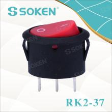 Interruptor oscilante oval Rk2-37A