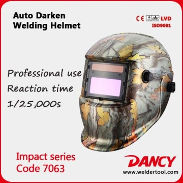 Custom variable light welding helmet code.7063