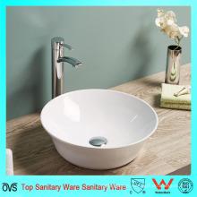 Новые супер тонкие тонкие края керамической ванной счетчик верхней умывальник