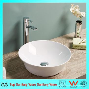 Cuarto de lavabo de cerámica superior del contador del cuarto de baño del borde fino delgado estupendo
