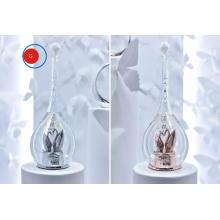 Bouteille en cristal Swarovski artisanale