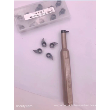 Grooving carbide inserts