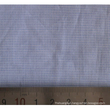 Cotton Fil a Fil Small Checked Shirt Fabric
