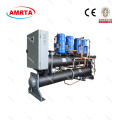 Water / water-koelmachines met scroll-compressor