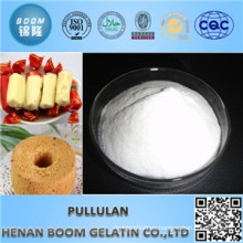 Polvo de Pullulan de Whiteness 70-90 Food Additives para la capa del caramelo