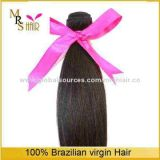 18-inch Natural Black 6A Peruvian Virgin Hair Straight Extension