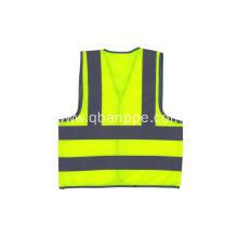 CE high light Vest with Reflective Strips