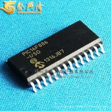 SXLS3-- PIC16F886-I/SO SOP-28 microcontroller Electronic Component IC Chip PIC16F886