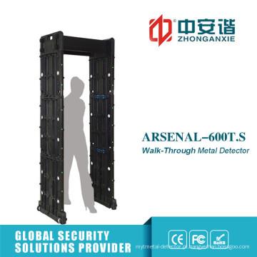 Touch Screen 24 Zones Visual Audible Alarm Door Frame Metal Detector