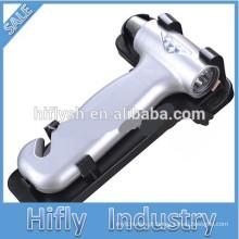 HF-838 Segurança Do Carro Martelo De Segurança Do Carro Escape Hammer Multifunções De Emergência Martelo Cinto De Segurança Cortador (Certificado Do CE)