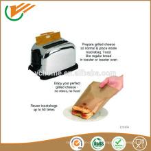 2015 100% антипригарный многоразовый мешок с тостером из тефлона PTFE легкий сэндвич