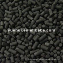 4.0 мм цилиндрический уголь активированный на основе углерода для регенерации растворителей ZH40