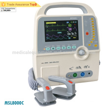Medical emergency biphasic AED defibrillator price (MSL8000C)