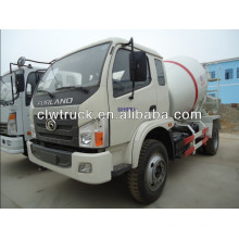 3cbm Foton 4x2 agitator truck