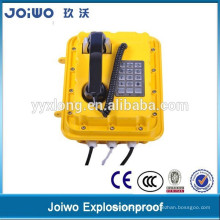 Large Button Weatherproof Telephone Lightening Protection Vandal Proof IP67