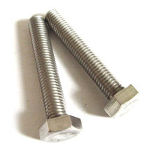 China manufacturing wholesale price grade 8.8 bolt and nut screw washer DIN931 DIN933 metric stainless steel galvanized hex bol