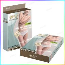 Customized full color printed folding plastic box
