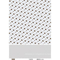 Mantel plástico impreso aduana de la venta caliente con Nonwoven / Fabric Support LFGB de alta calidad