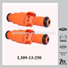 Inyector de combustible, MAZDA 6 piezas OEM L309-13-250