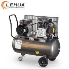 Óleo de potência ac lubrificado pistão Itália 100l compressor de ar 150l com separador de óleo de água