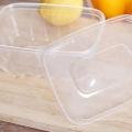 Recipientes de armazenamento de alimentos descartáveis para viagem descartáveis ecológicos pp
