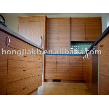 Bamboo kitchen cabinet (HJBK-03)