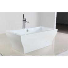 Weiße Acryl Hot Tub im Freestandy Typ