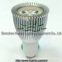 3x2w 6w LED GU10 bombilla led regulable