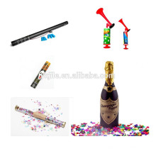 Cumpleaños Confeti Cannon & Winebottle Bubbly Champagne Party Popper
