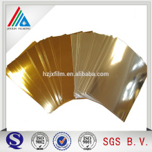 Ambos Side Gold PET Film