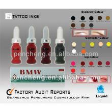 Lippe & Augenbraue Permanent Make Up Tattoo Pigment / Ink- 15ml / Flasche Flüssigkeit
