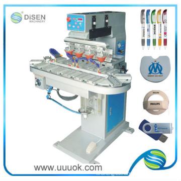 impresora del cojín de 4 colores tinta sellados taza