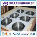 Hohe Temperatur 99,95% reiner polierter gesinterter Molybdän-Schmelztiegel / Schmelztiegel oder Tungstencrucible / Tiegel für Sapphire-wachsender Ofen-Fabrik-Preis