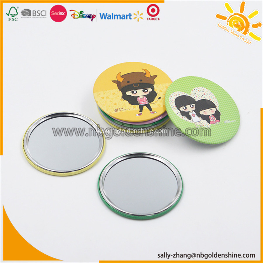 Promotion Mini Tin Mirror