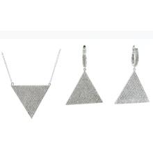 Jóias de moda mais recente design 925 conjuntos de prata (s3317)