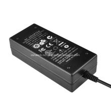 48V 1.04A Импульсный настольный источник питания 2.5 / 2.1mm Plug