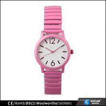 Reloj de la correa de la extensión para las mujeres, precio del reloj del cuarzo