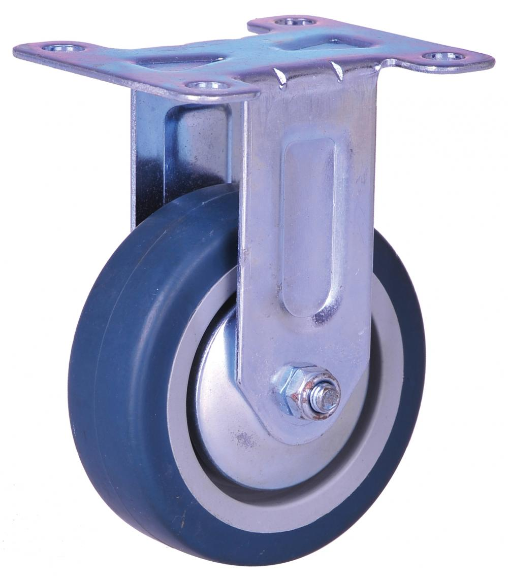 2-inch light duty rigid plate mounted caster