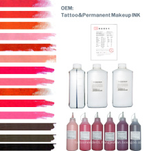 Popular Cosmetic Colotful Tattoo Ink (OEM)