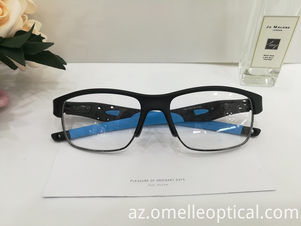 Half Frame Glasses Mens