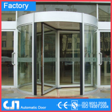 3 & 4 Wings Manual & Automatic Security Revolving Doors