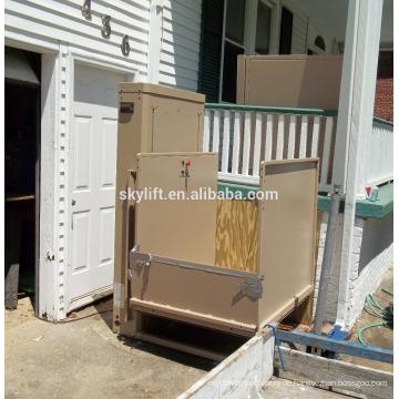 Elektrische Stuhltreppe für die arbeitsunfähige Aufzugplattform